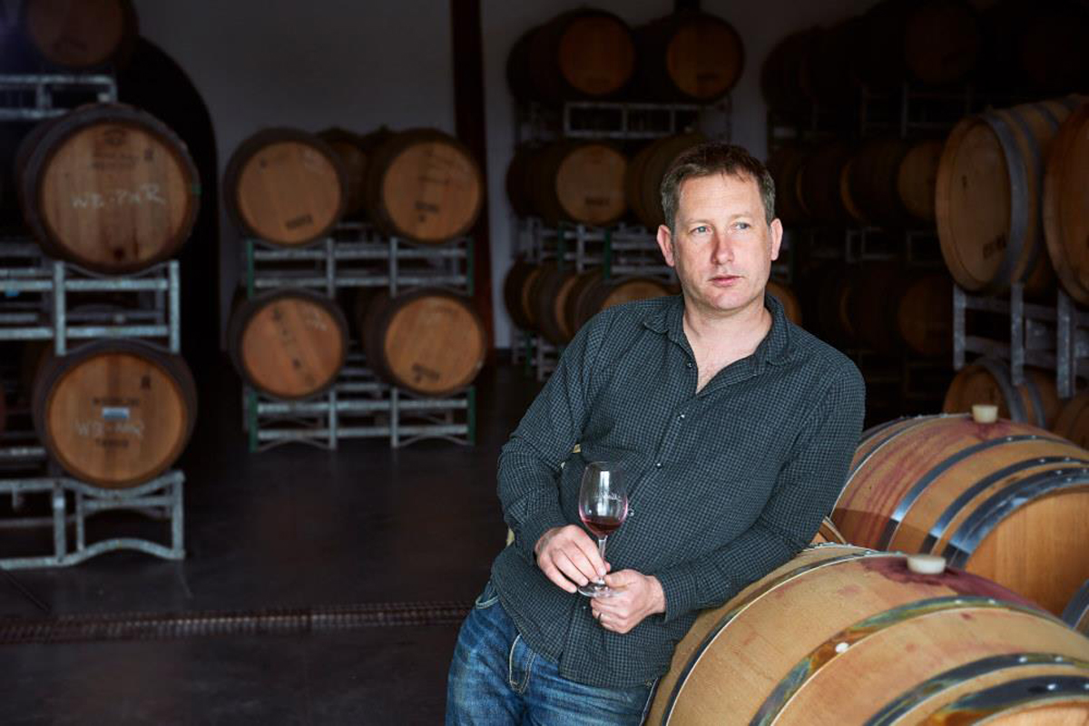 Winemaker Sam Bennett